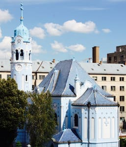 Old Town Blue Church View - Bratislava