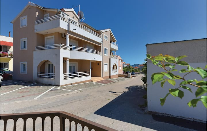 Nice home in Vodice with WiFi and 1 Bedrooms