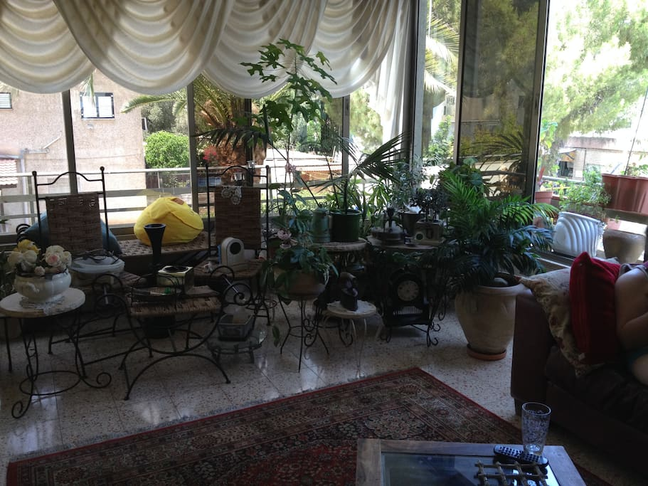 A beautiful living room