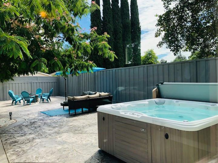 Centrally located, Pool,Hot tubNAPA-SFO-BART