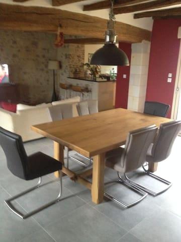 maison entièrement restaurée - Verrie - Pis
