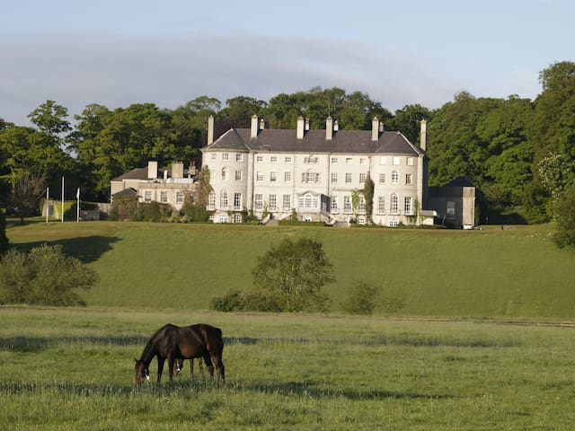 Mount Juliet House, this is a a 20 minute walk from apartment