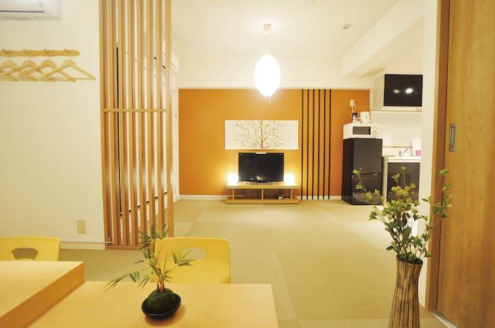 3 mins to Nippombashi/Bijou Suites AKARI#502