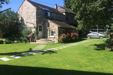 renovated barn,charming village at 50km from PARIS - Fresnoy-le-Luat - Casa