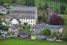 The Chruch and village of Inistioge