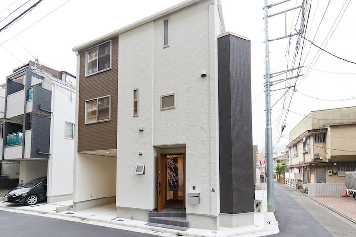 NewHouse 3LDK/Tokyo Haneda Airport 12m/FreeParking - Ota - บ้าน