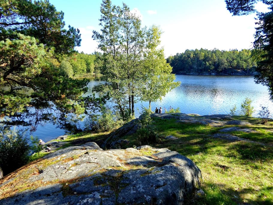 Nearby Söderby lake