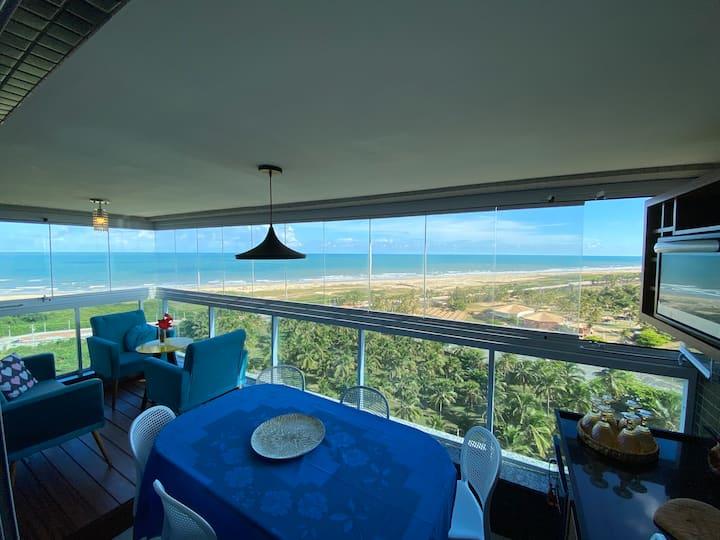 Apartamento Aconchegante com Vista para o Mar