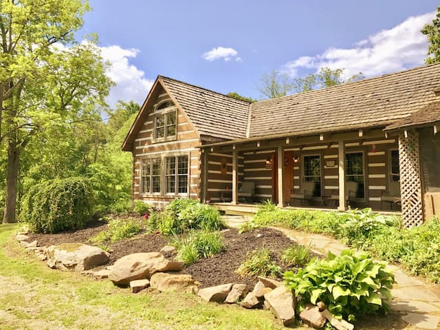 STAYCATION CABIN W/HOT TUB ON 55 ACRES-PERFECT!
