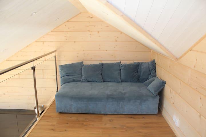 Loft-Bäddsoffa 160 cm