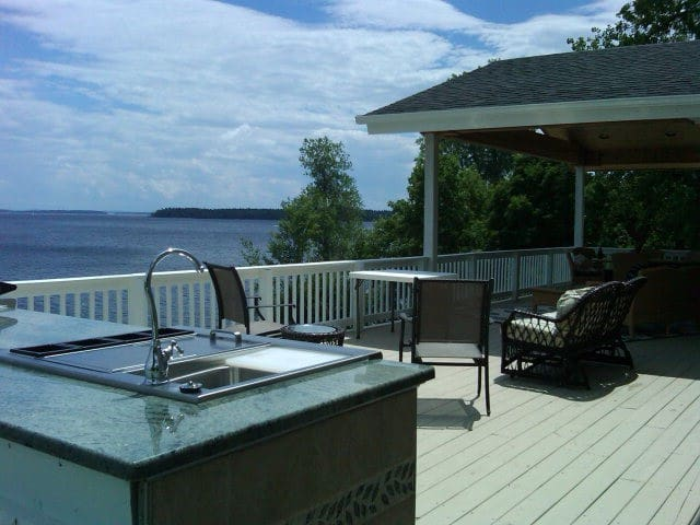 Spectacular Views-Lakeside Privacy-Near Whitface - Plattsburgh - Casa