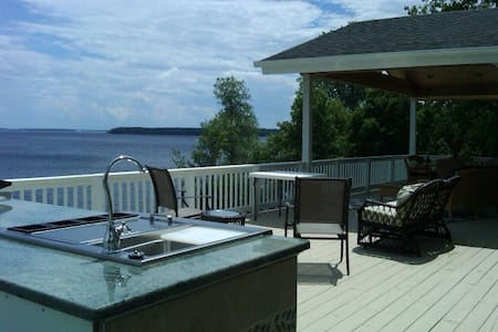 Spectacular Views-Lakeside Privacy-Near Whitface - Plattsburgh - House