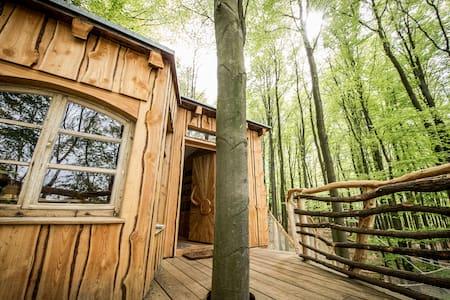 die 20 besten baumh user in deutschland airbnb baumhaus unterkunft ferienhaus baumhaus. Black Bedroom Furniture Sets. Home Design Ideas