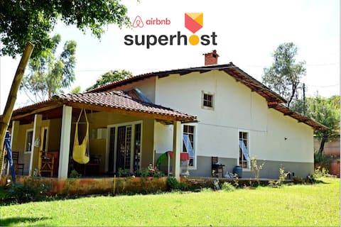 Espaçosa Casa de Férias em Caxambu - COM WIFI
