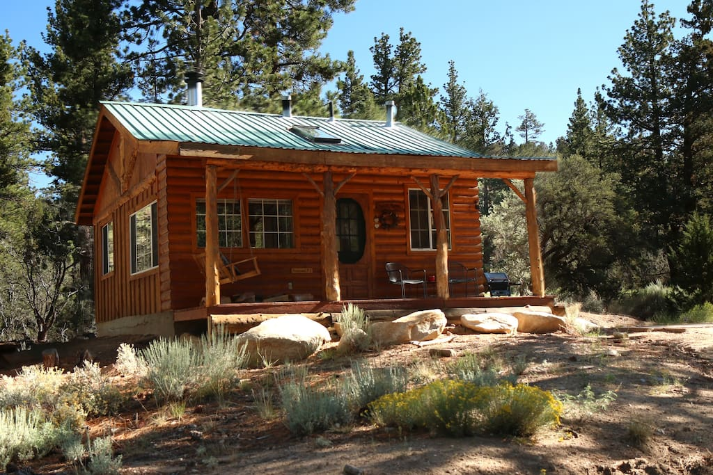 Little cabin in the woods….