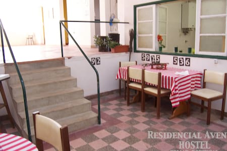 Residencial-Avenida Hostel  single - Tomar - Huis