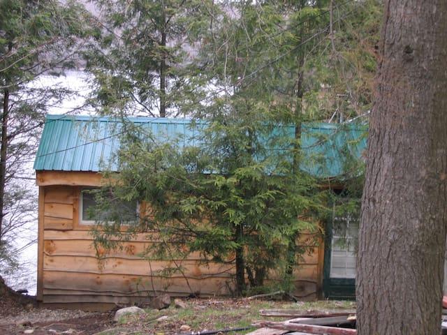 Moose Lodge at Lake Desolation