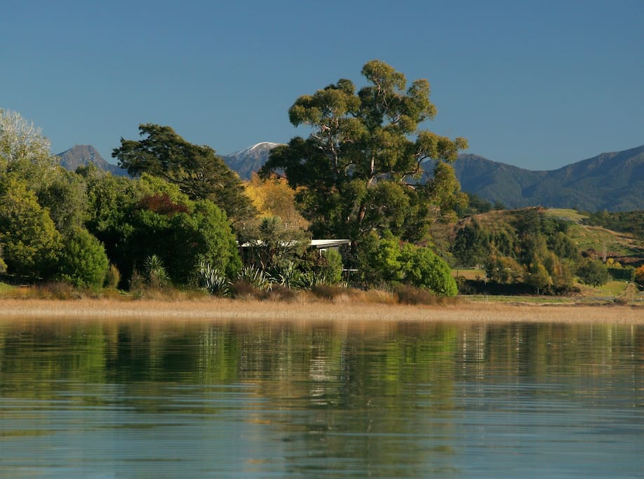 Miro cottage from the inlet