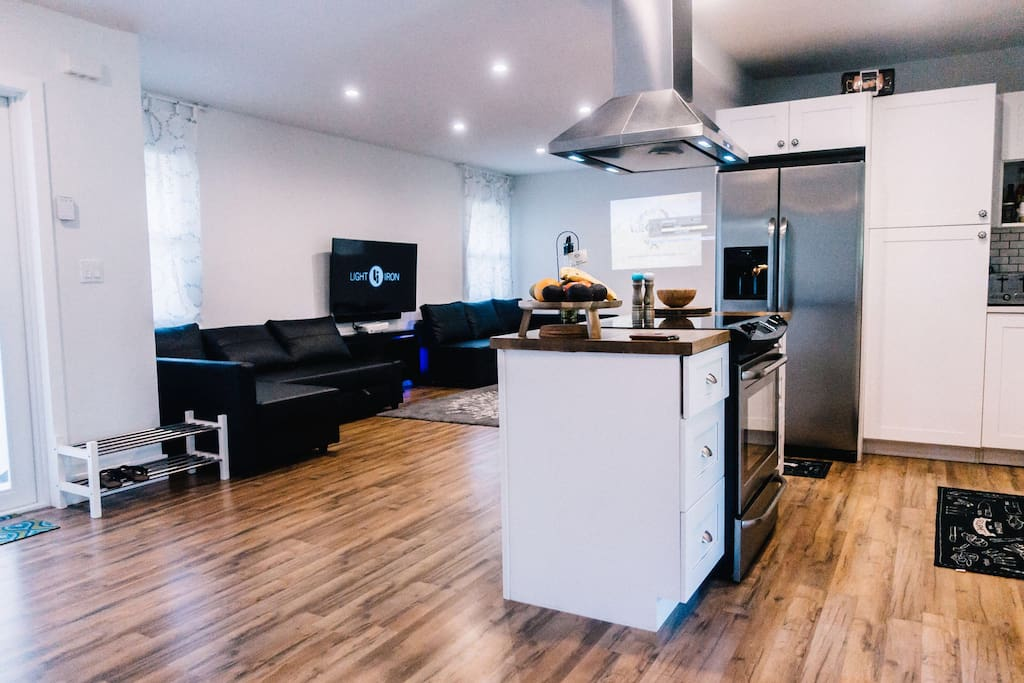 Enjoy spacious kitchen fully equipped