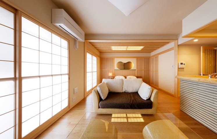 Modern Japanese Gion life - Higashiyama-ku, Kyōto-shi - Wohnung