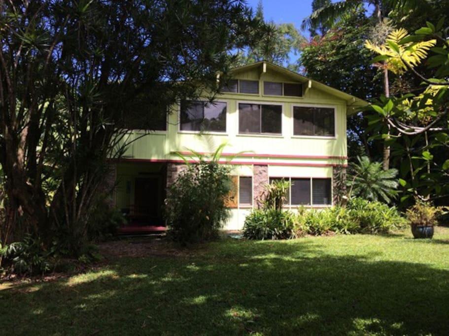 Garden House front
