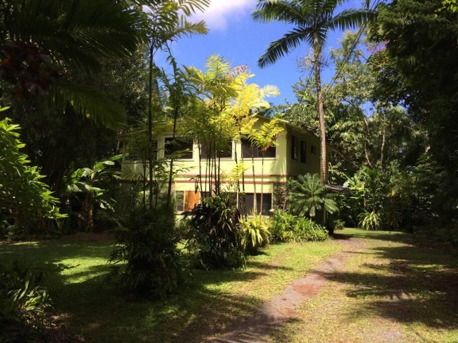 Garden House entrance