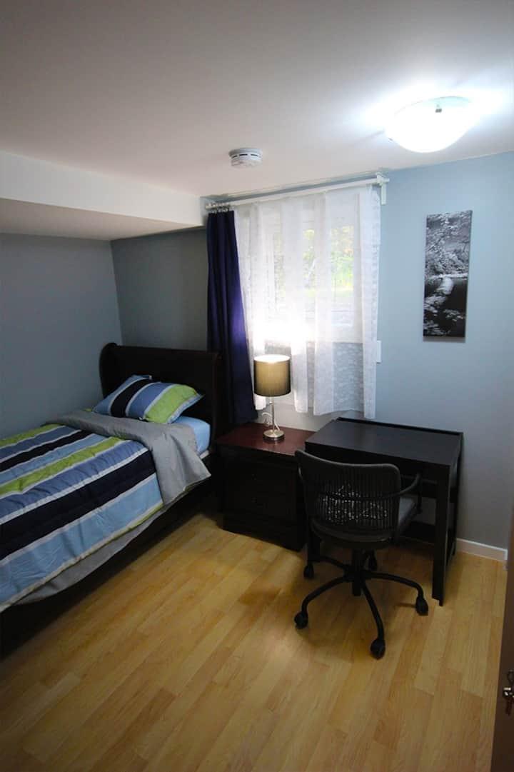 Comfy Basement Room
