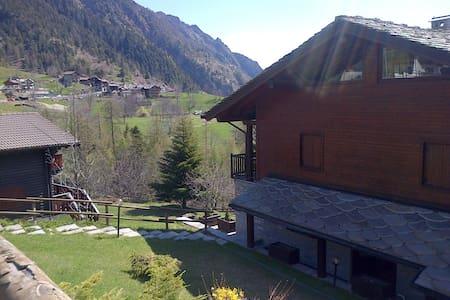 Deliziosa casa di montagna - Champorcher