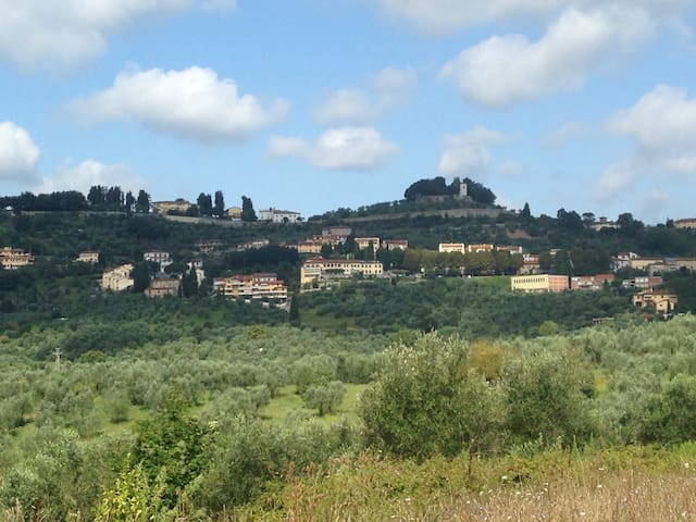 Apartment on hills near Florence - Carmignano - Daire