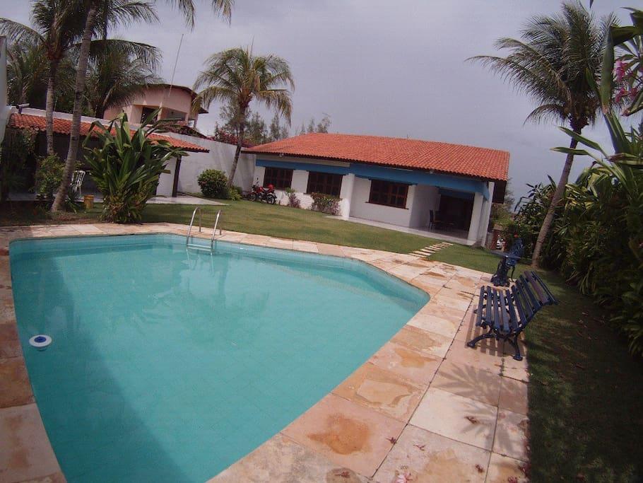 Villa con piscina porto das dunas ville in affitto a - Custode con alloggio ...