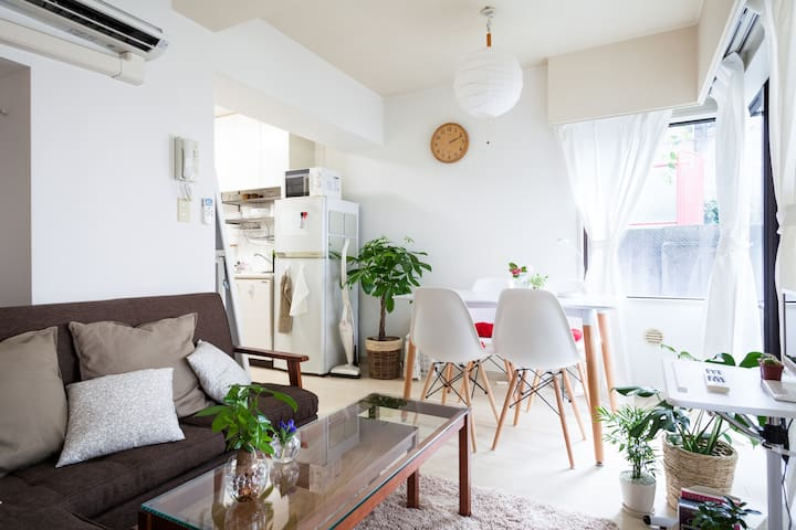 BEST LOCATION!! Cozy 5min Ebisu/Shibuya/Daikanyama - Shibuya-ku - Appartement