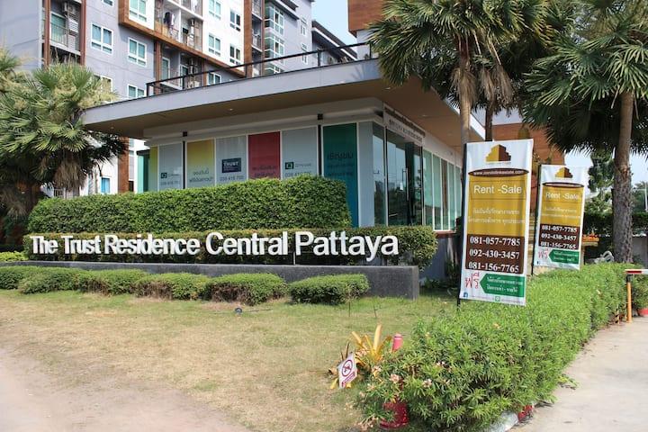 Pattaya Centre, The Trust Residence 20m2