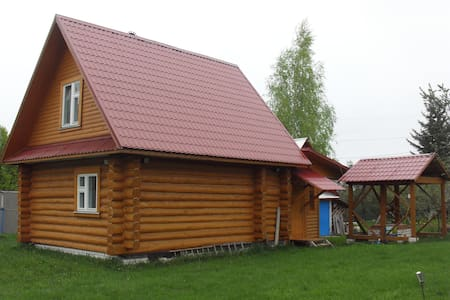 Гостевой дом в деревне рядом с рекой Волгой