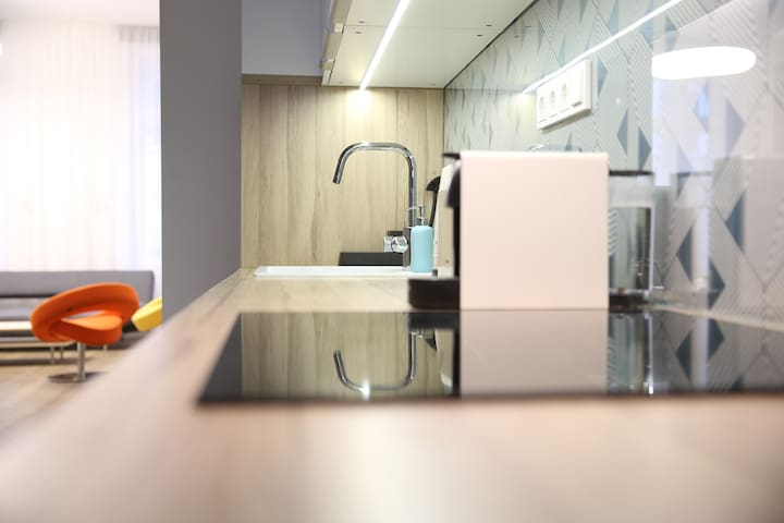 Fully equipped kitchen at your convinience