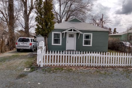 2 bedroom 1 bath in town.  Close to new Hospital.