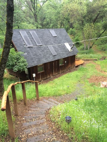 Cottage in the Woods- creeks, bike trails, quiet