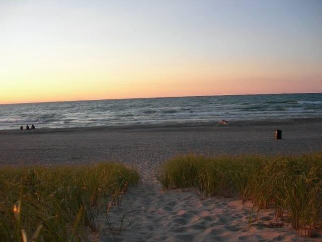 BeachHouse/Hot Tub(all year)Sauna/Jacuzzi/Pets - Michigan City - Apartamento