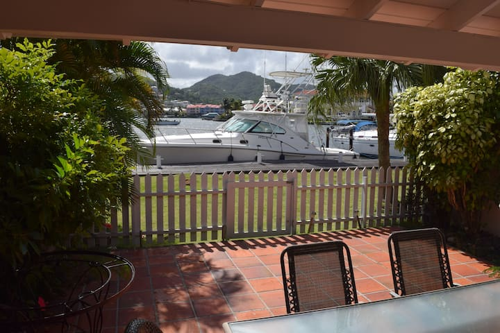 Rodney Bay, Waterfront Condo on IGY Marina