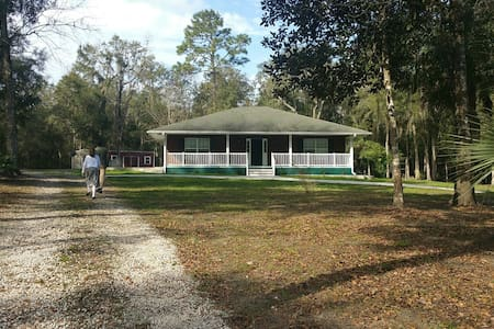 Enjoy the privacy and 10 acres - Brooksville - Maison
