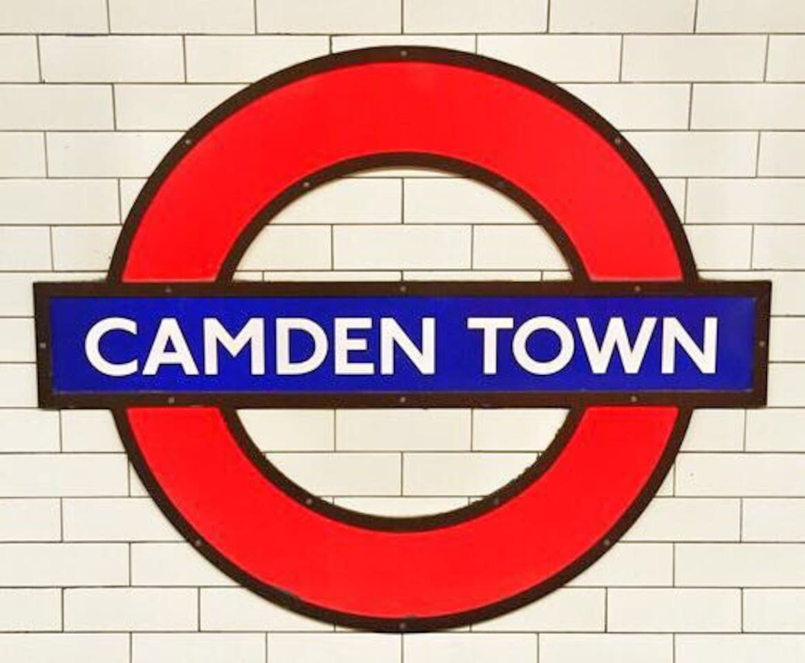 The world Famous Camden Town and it's market is just a 15 minute walk away