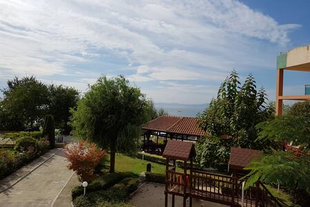 Seaview apartment in Global city complex - Nessebar - Lakás