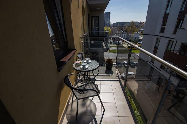 Apartament City View 5 od WroclawApartament-pl