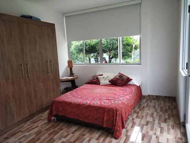 Habitacion para 1 o 2 personas