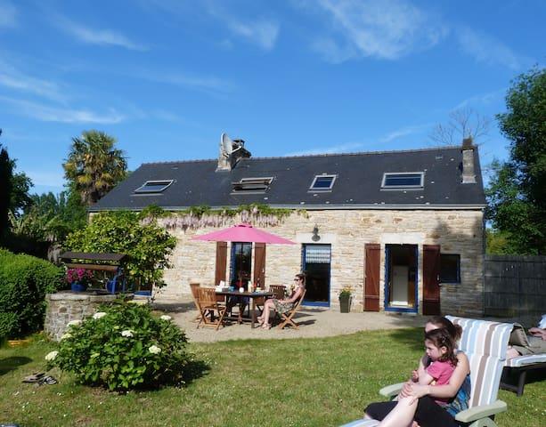 Mer à 200m, maison indépendante - La Forêt-Fouesnant - House