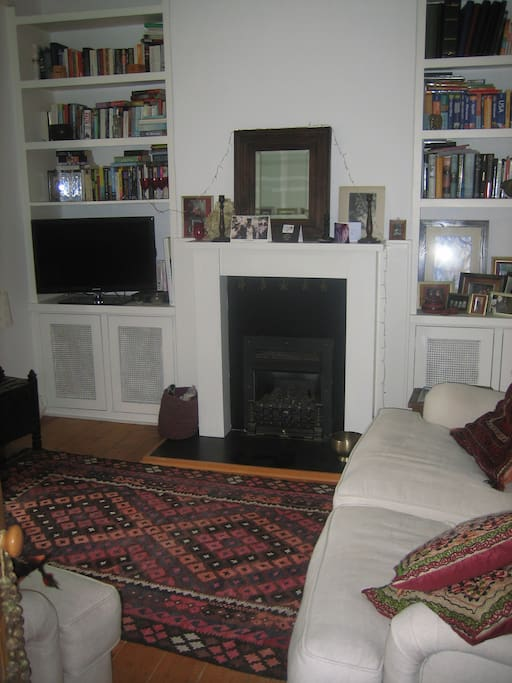 Front room with two comfy sofas