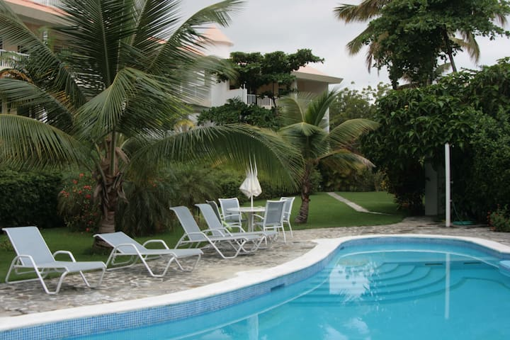 Apartment beach front comunity 202 - Cabarete - Apartment