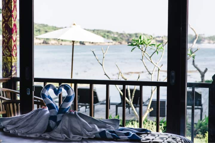 Luxury Double Bed Seaview room  @lembongan seaview