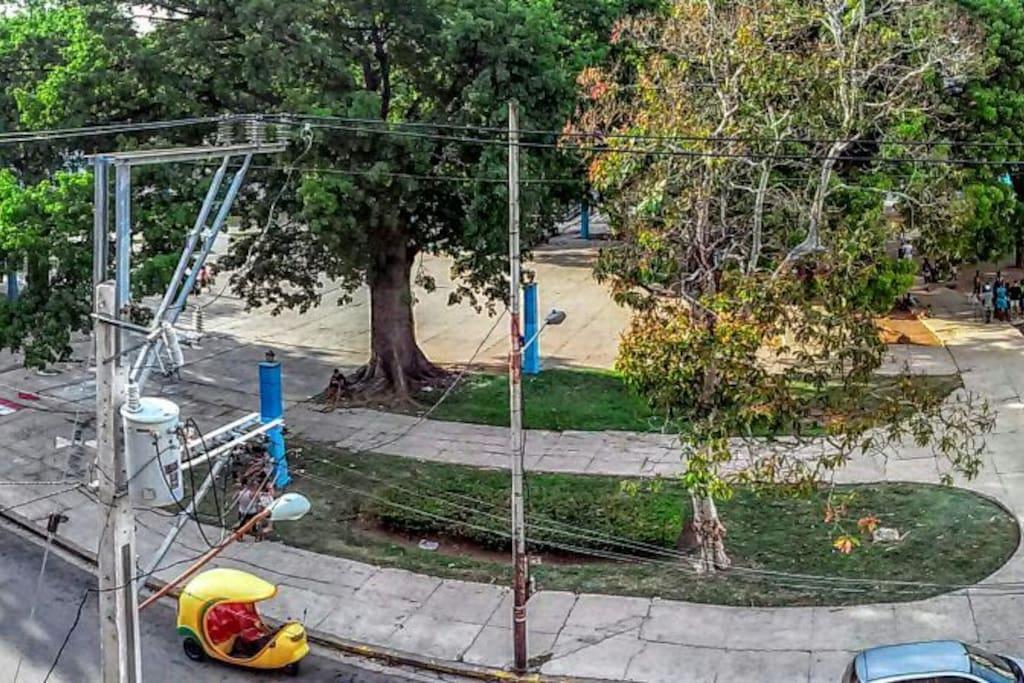 parque con conexión wifi