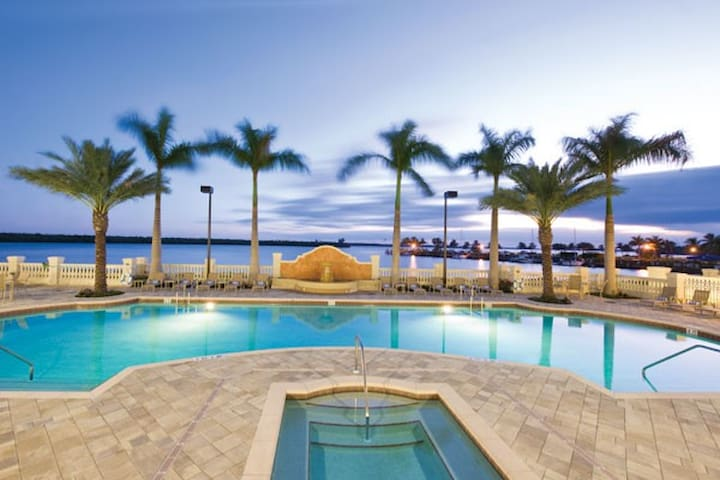 WestinCapeCoral 3 bedr sleep8 unit1 - Cape Coral - Huoneisto