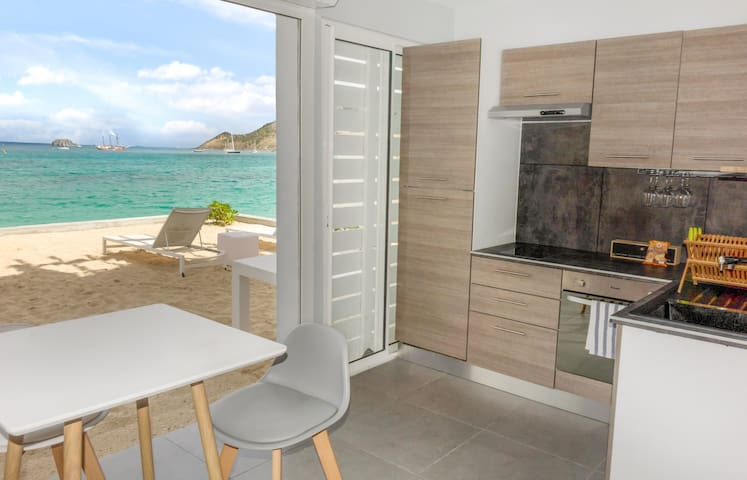 Residence Bleu Marine Studio Ground Floor in the heart of Grand Case SXM